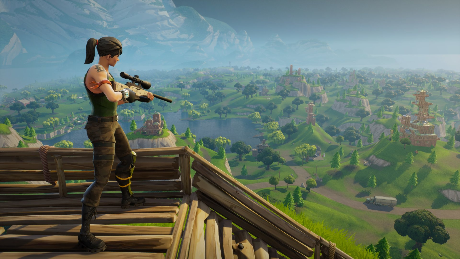 download Fortnite game wallpapers