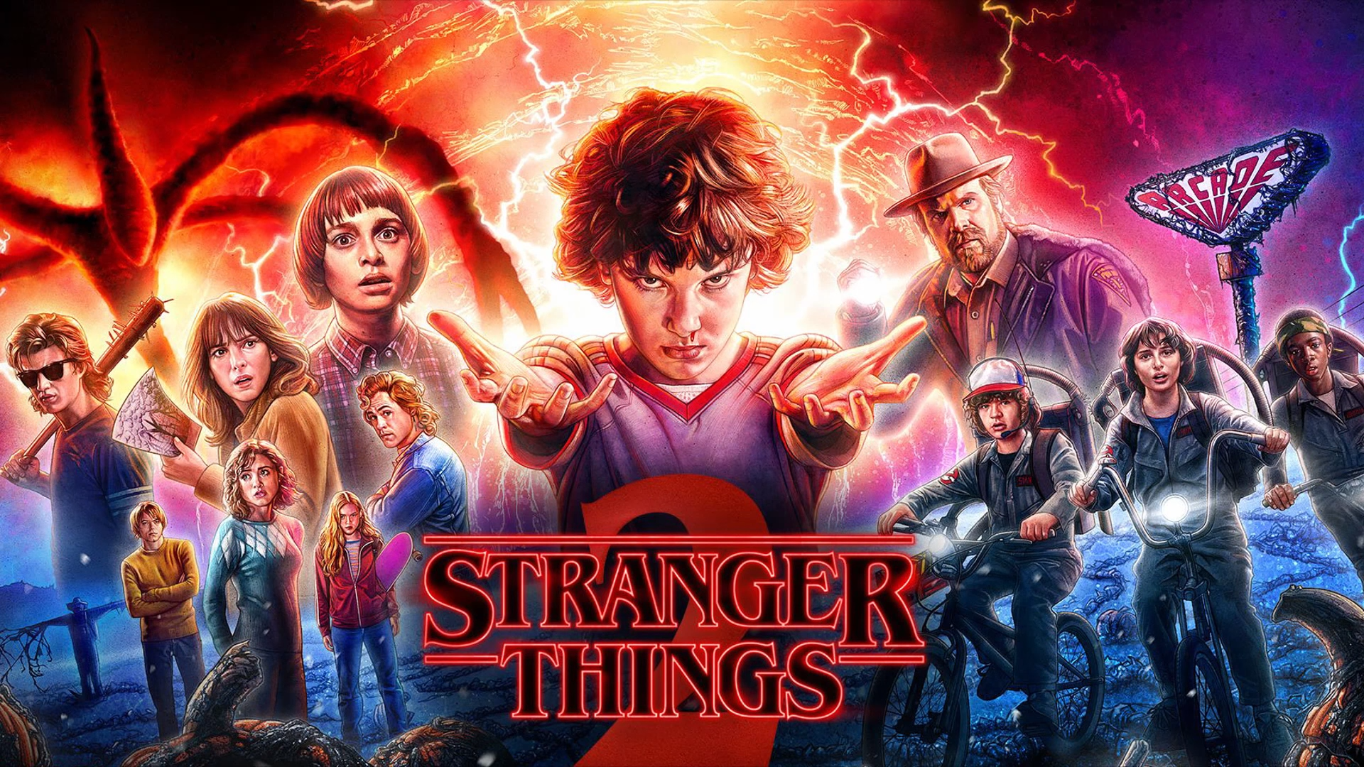 hd stranger things images