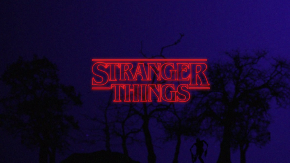 stranger things background images