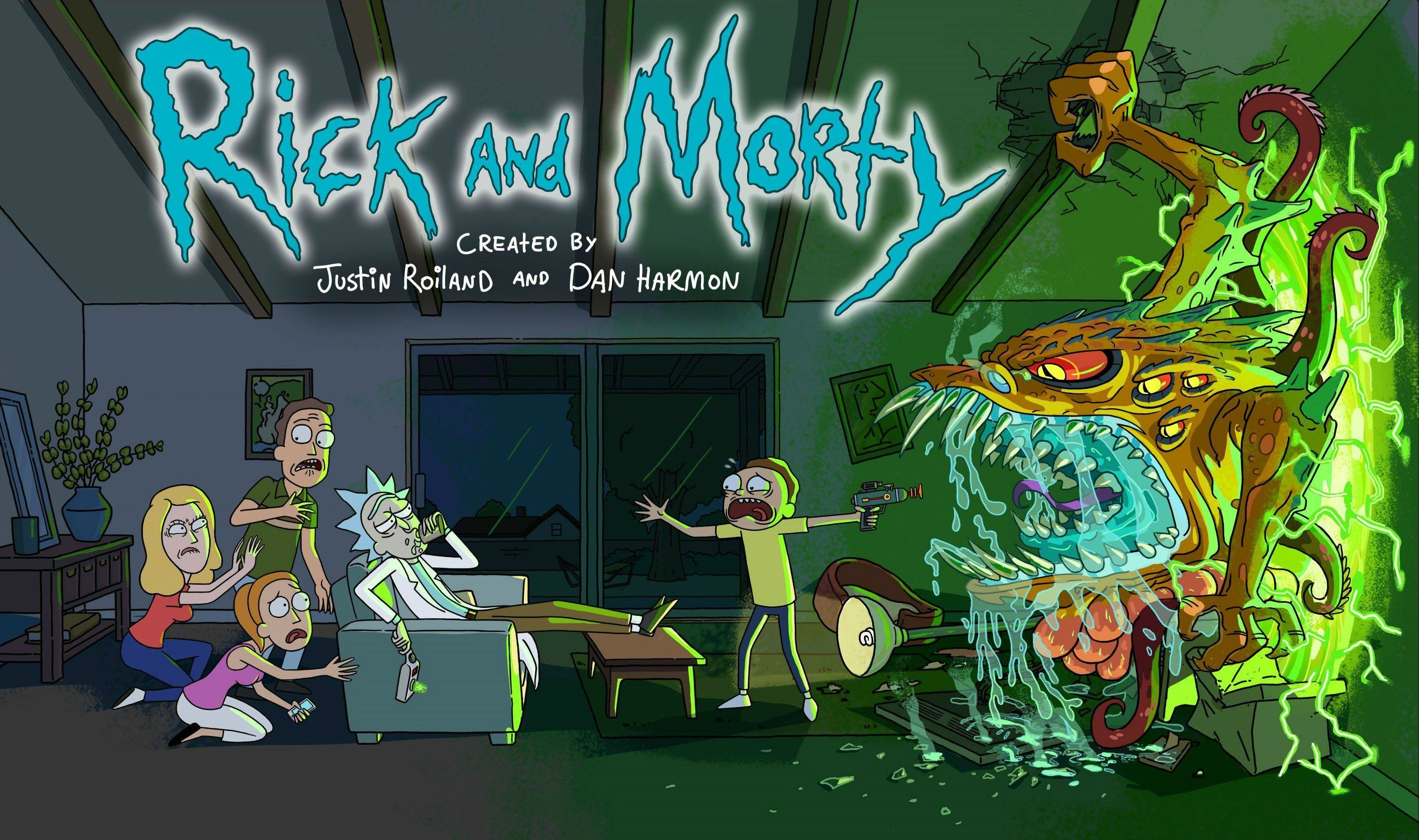 rick and morty wallpapers for ipad and mobile