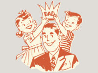 fathers day pic with kids