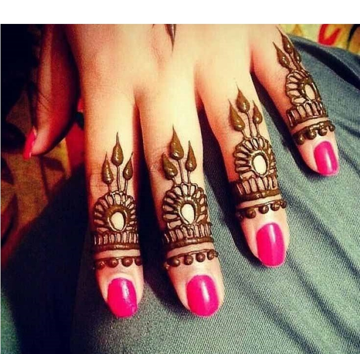 Henna-Design-to-Cover-Quarter-Portion-of-Fingers