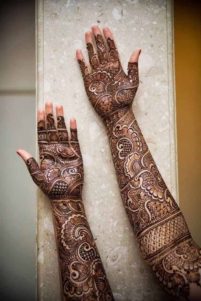 full arms-Mehendi-desing for Eid