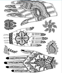 front hand and backhand complete mehndi design