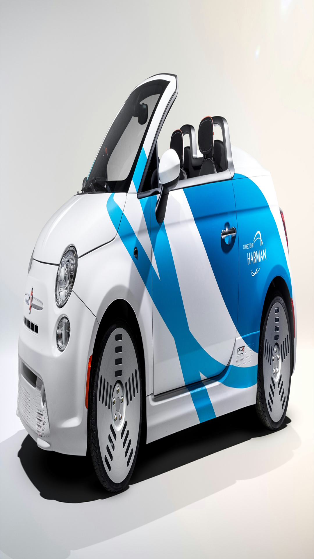 white two door car wallpaper for android